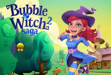 Bubble Witch 3 Saga MOD APK Hack Unlimited Gold Boosters