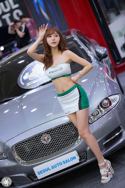 5 Seo Jin Ah - Seoul Auto Salon - very cute asian girl-girlcute4u.blogspot.com