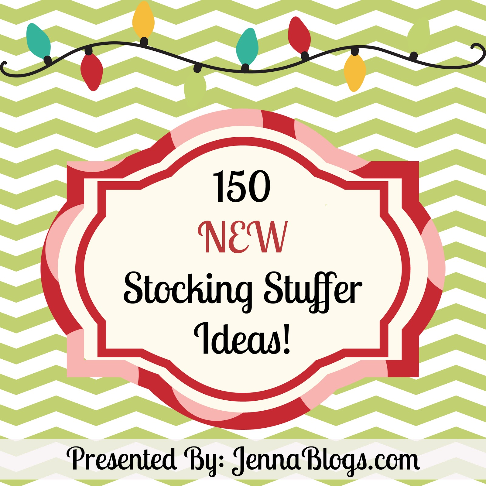 Jenna Blogs: 150 NEW Stocking Stuffer Ideas for Everyone!