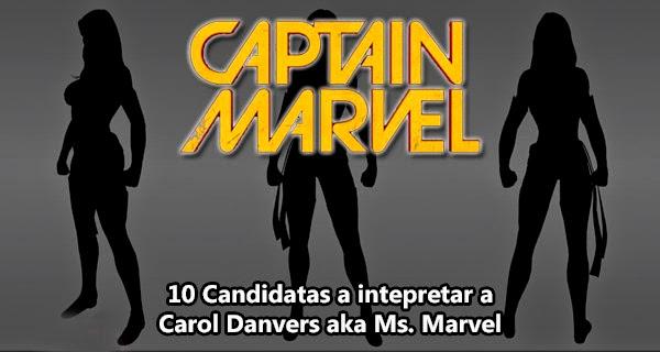 Candidatas a interpretar a Ms. Marvel