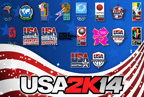 NBA 2K14 PC Team USA Mod