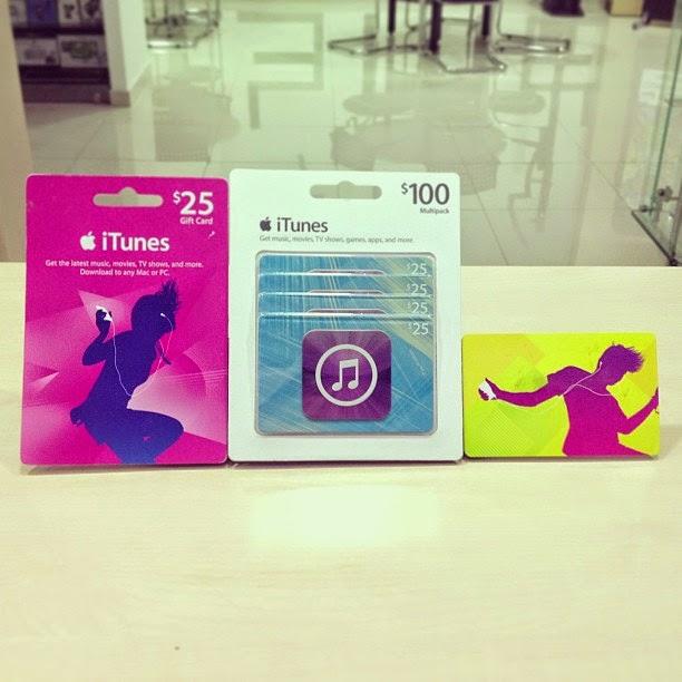 Fungsi Dan Manfaat iTunes Gift Card