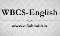 WBCS-2013 English Compulsory | WBCS Mains 2013