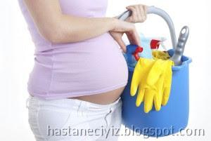 hamilelikte ev işi yapmak