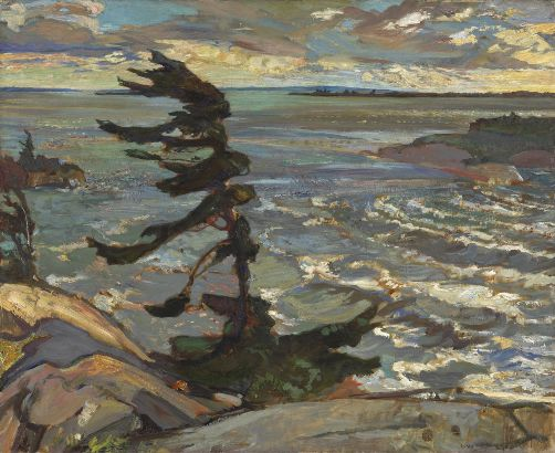 Where Was The Stormy Weather By Frederick Varley Painted
