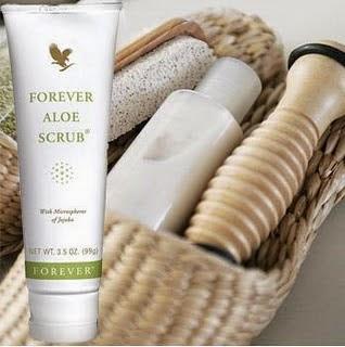 Forever Aloe Scrub® Sữa rửa mặt và toàn thân có cát