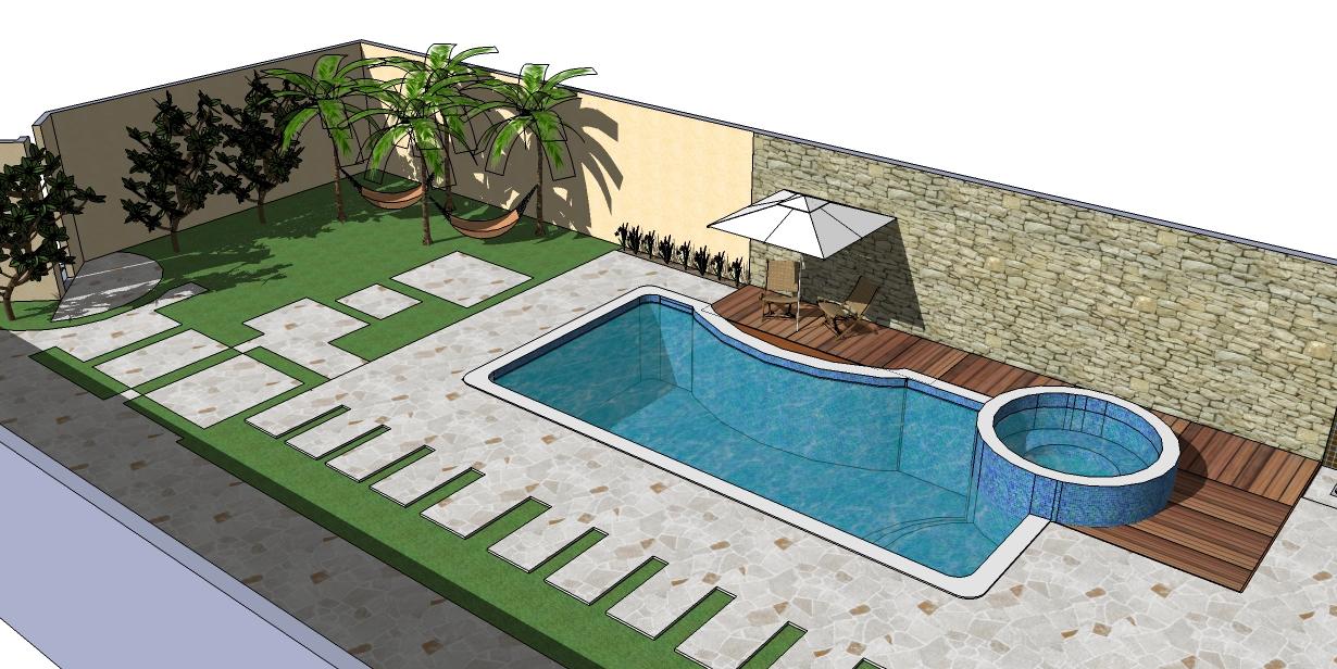 Piscinas davi projetos for K sol piscinas