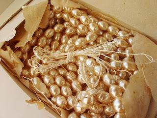 vintage klaaspärlid pärlid Tšehhoslovakkia