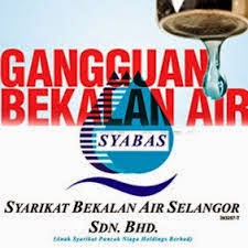 Gangguan Bekalan Air Di Selangor
