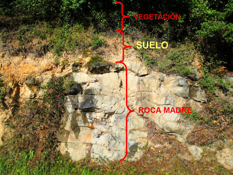 Km 130 geolog a contra la pared for De donde es la roca