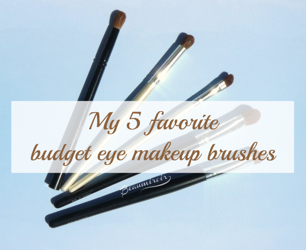 5 inexpensive makeup brushes to create all eye looks