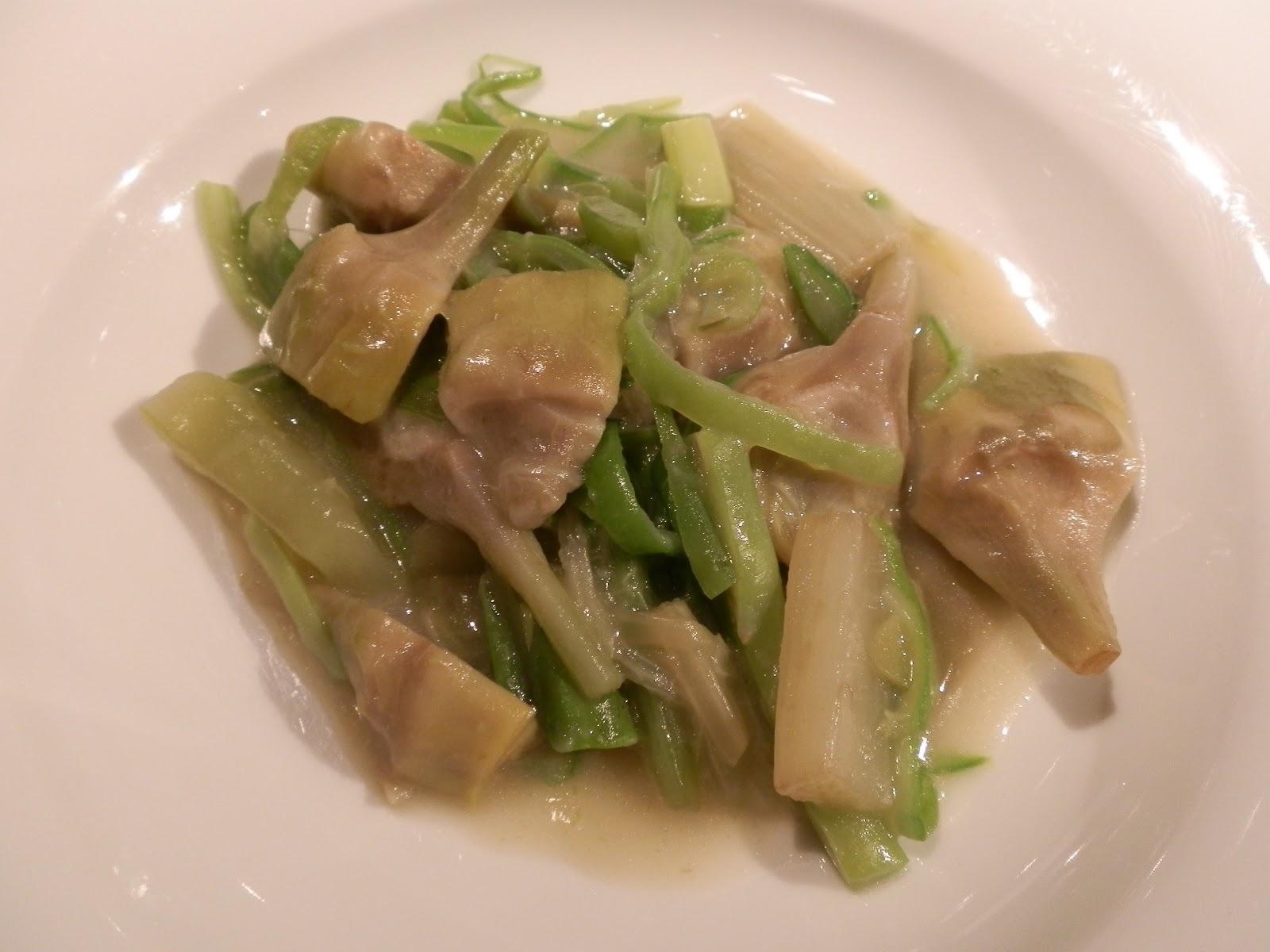 Ajilimojili cenando con chicote en el rodero pamplona - Menestra de verduras en texturas ...