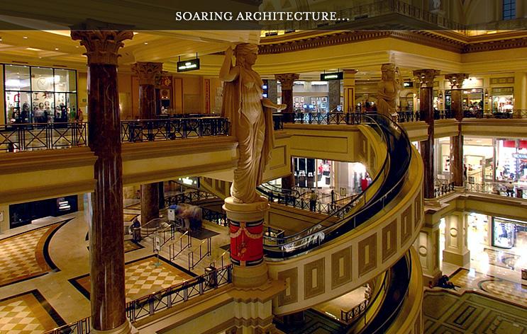caesars palace shopping