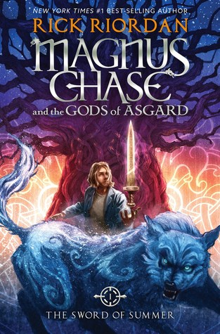 The Sword of Summer book cover