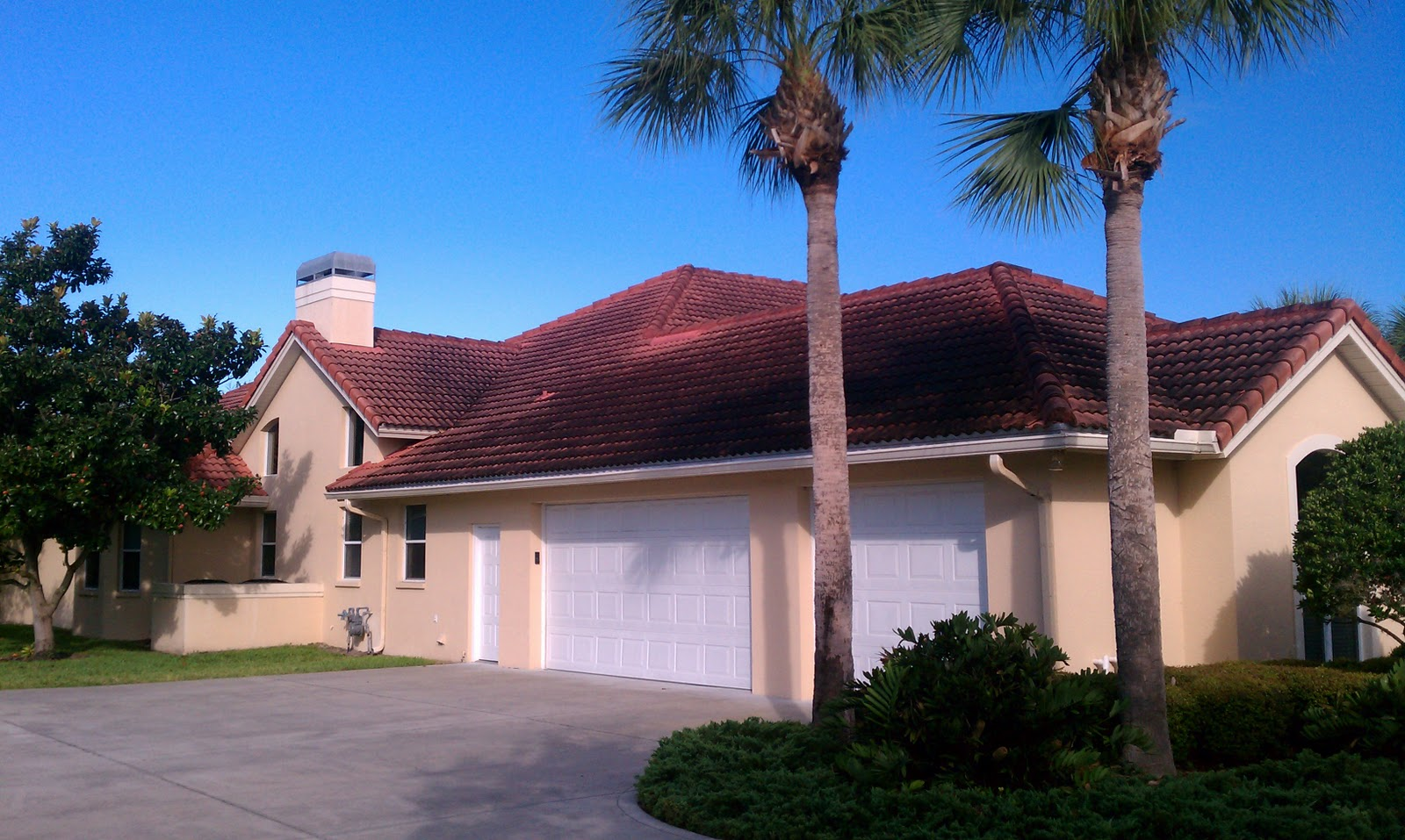 Beacon Roof Exterior Cleaning Melbourne Florida Tile