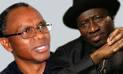 El-rufai and Jonathan