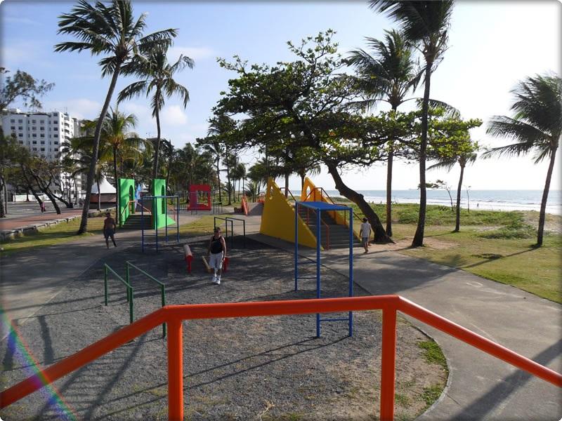 Pista com obstáculos  2° jardim praia de Boa Viagem  RecifePE