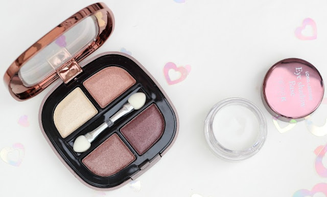 Nicka K eye shadow and primer - open