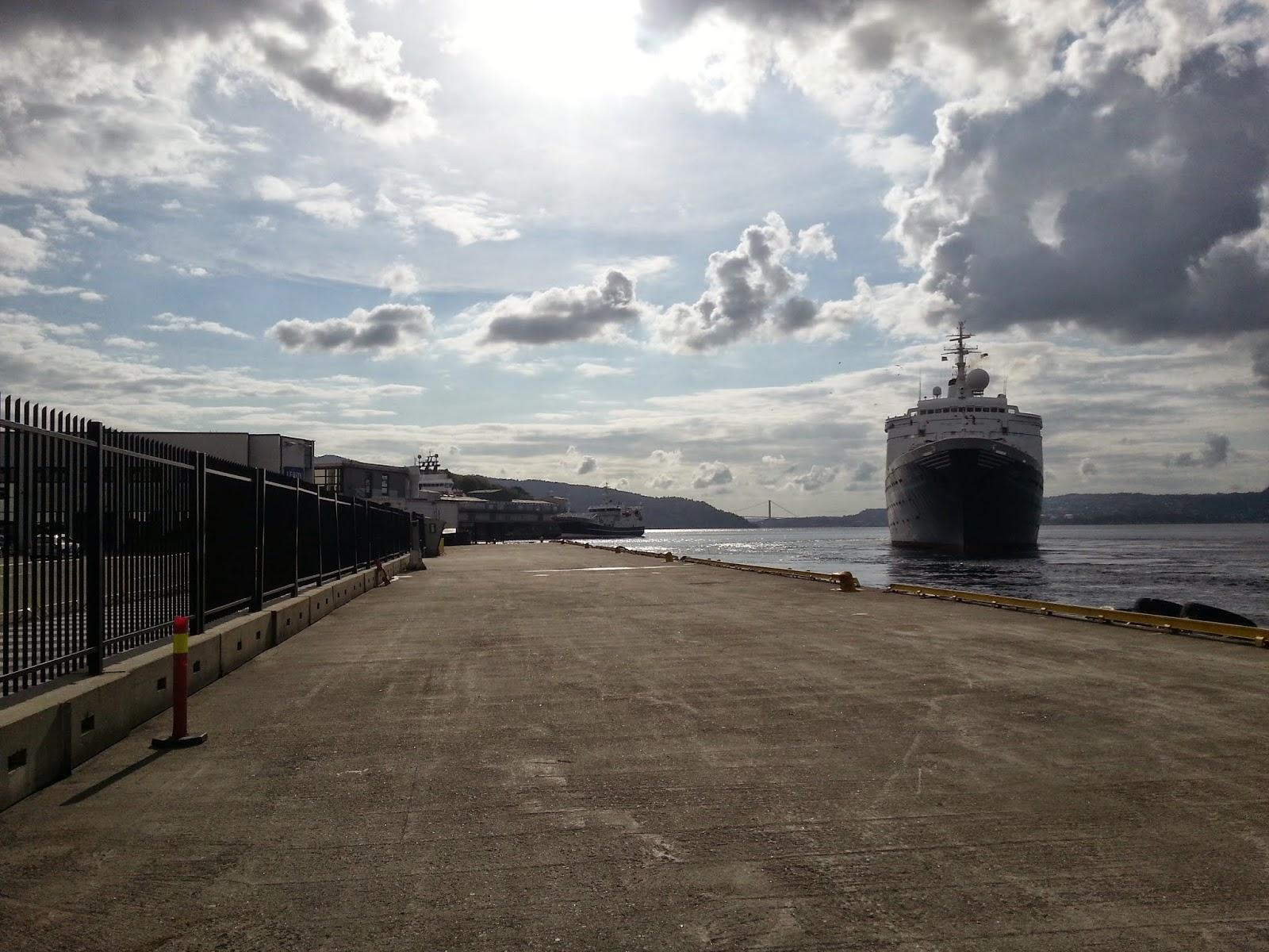 Cruise Ship Marco Polo in Bergen