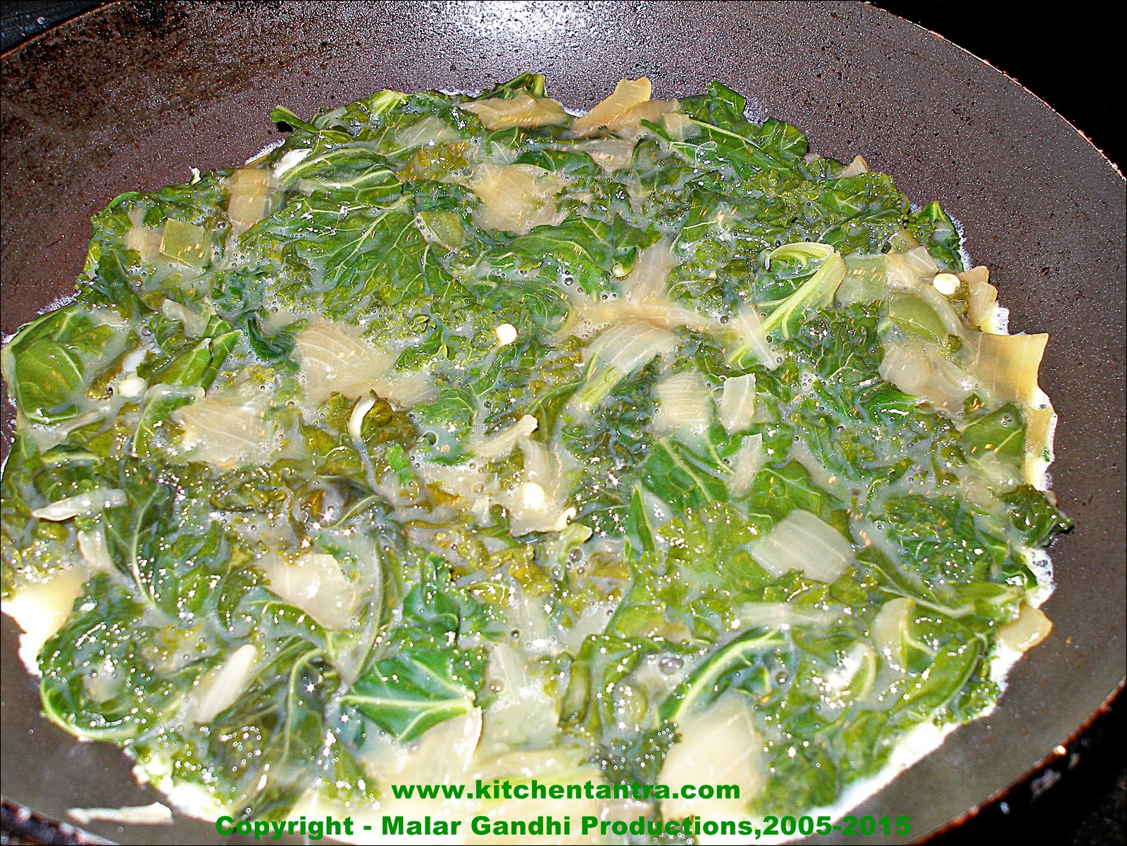 Kale and Cheese Omelette – The Infinite Variable | Kitchen ...