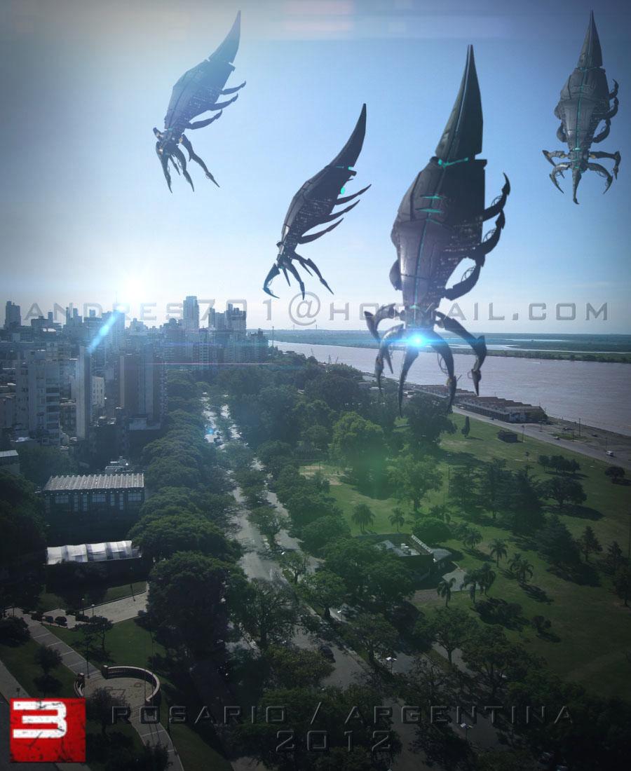 [Fan art] Segadores llegan a la tierra(Argentina) !