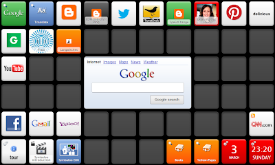 My symbaloo set up