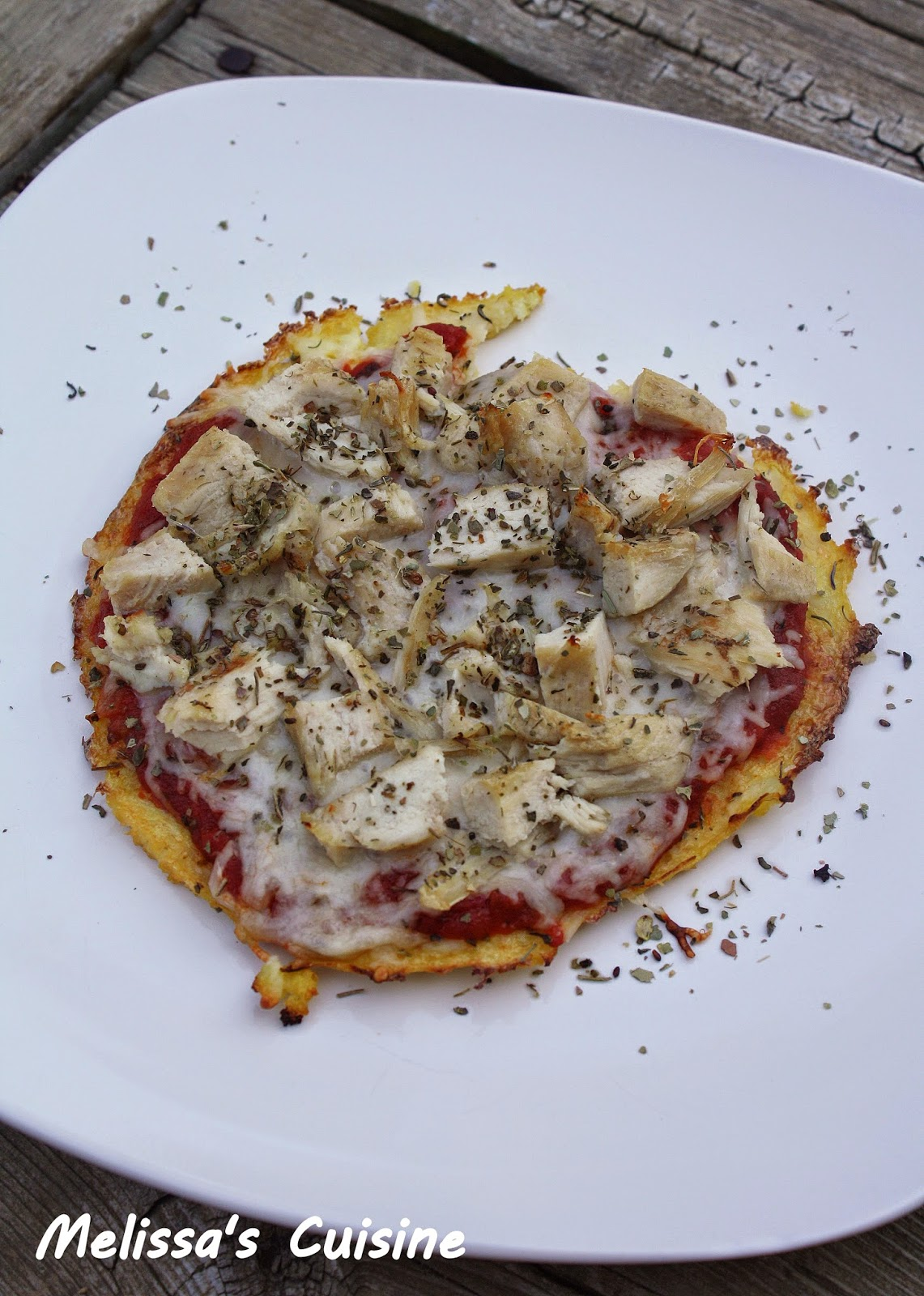 Melissa's Cuisine: Cauliflower Pizza Crust