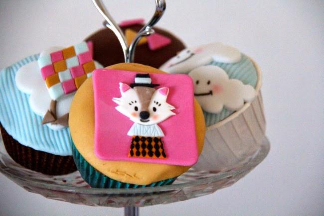 presentoir cupcakes