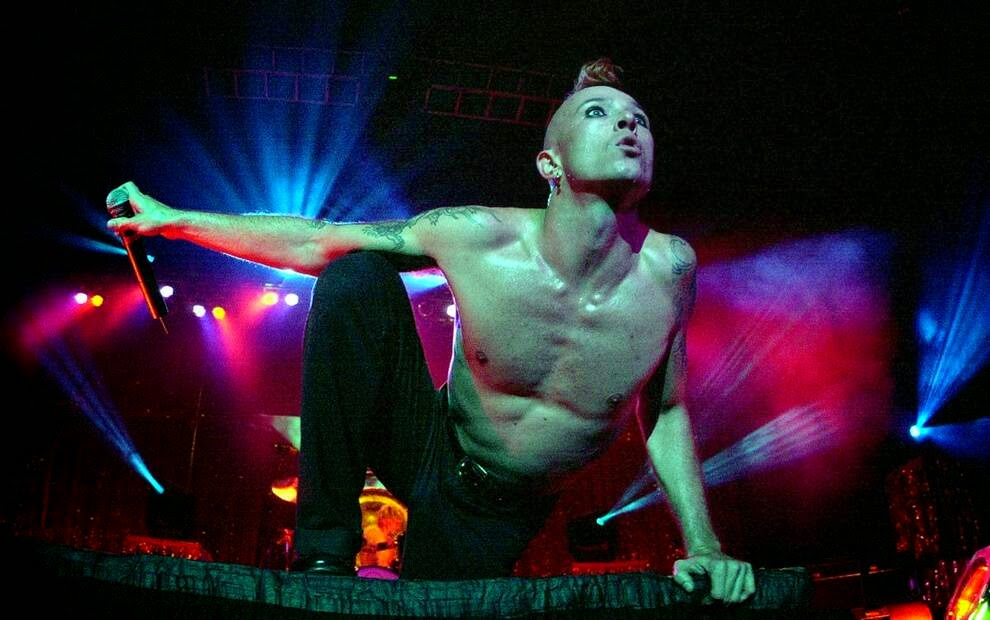Скотт Уайланд из группы «Stone Temple Pilots»