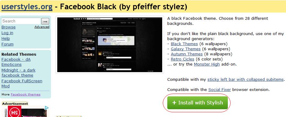 Cara Mengganti Background Tampilan Facebook terbaru
