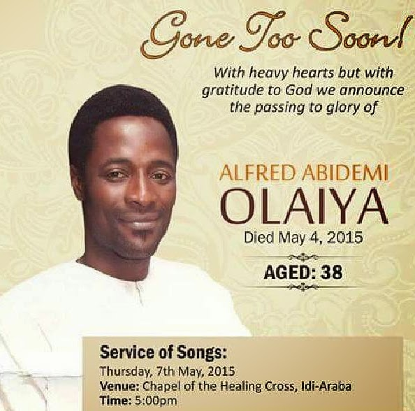 moji olaiya brother dead