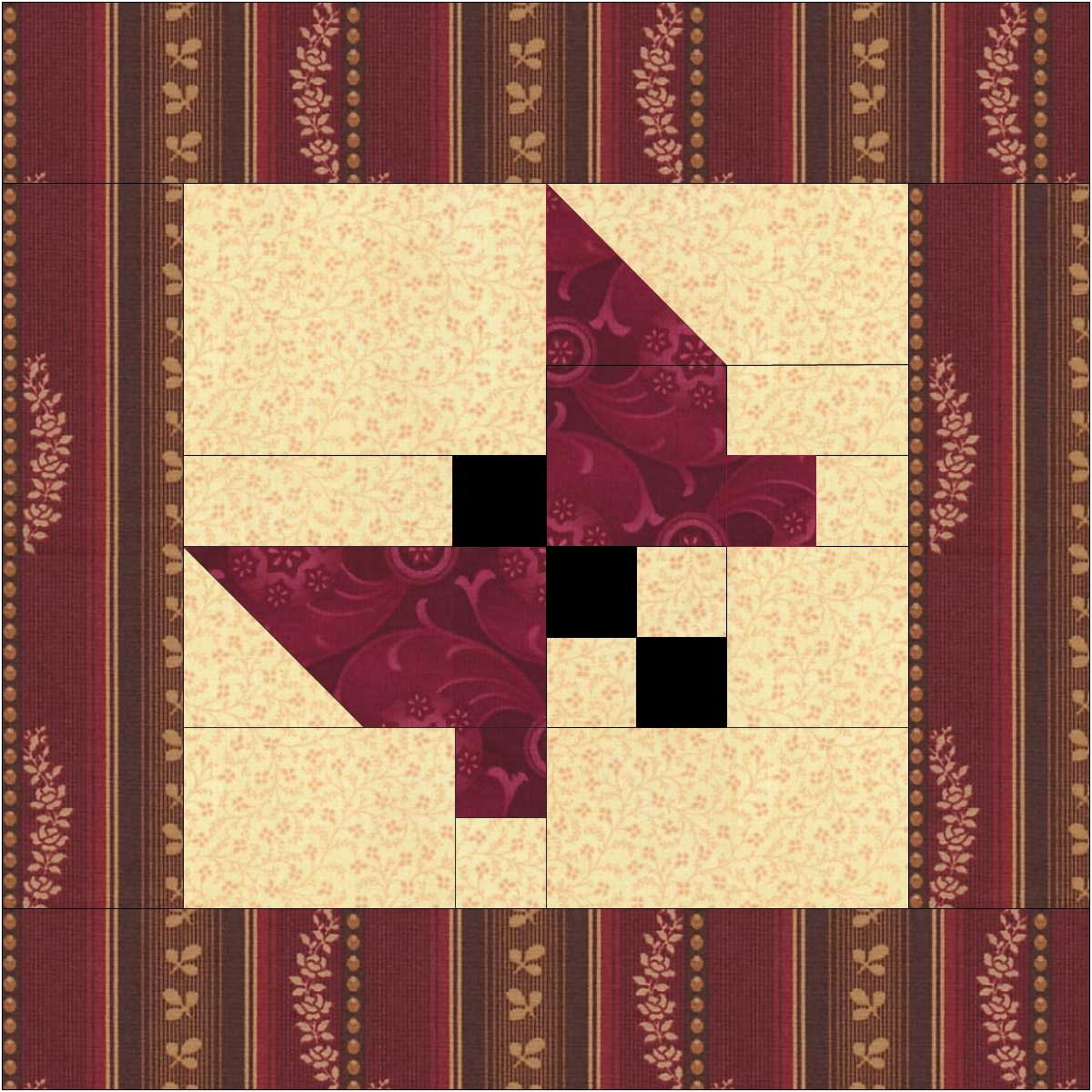 Free Quilt Patterns And Blocks : Quilter s fun: New, Free, Butterfly Quilt Pattern