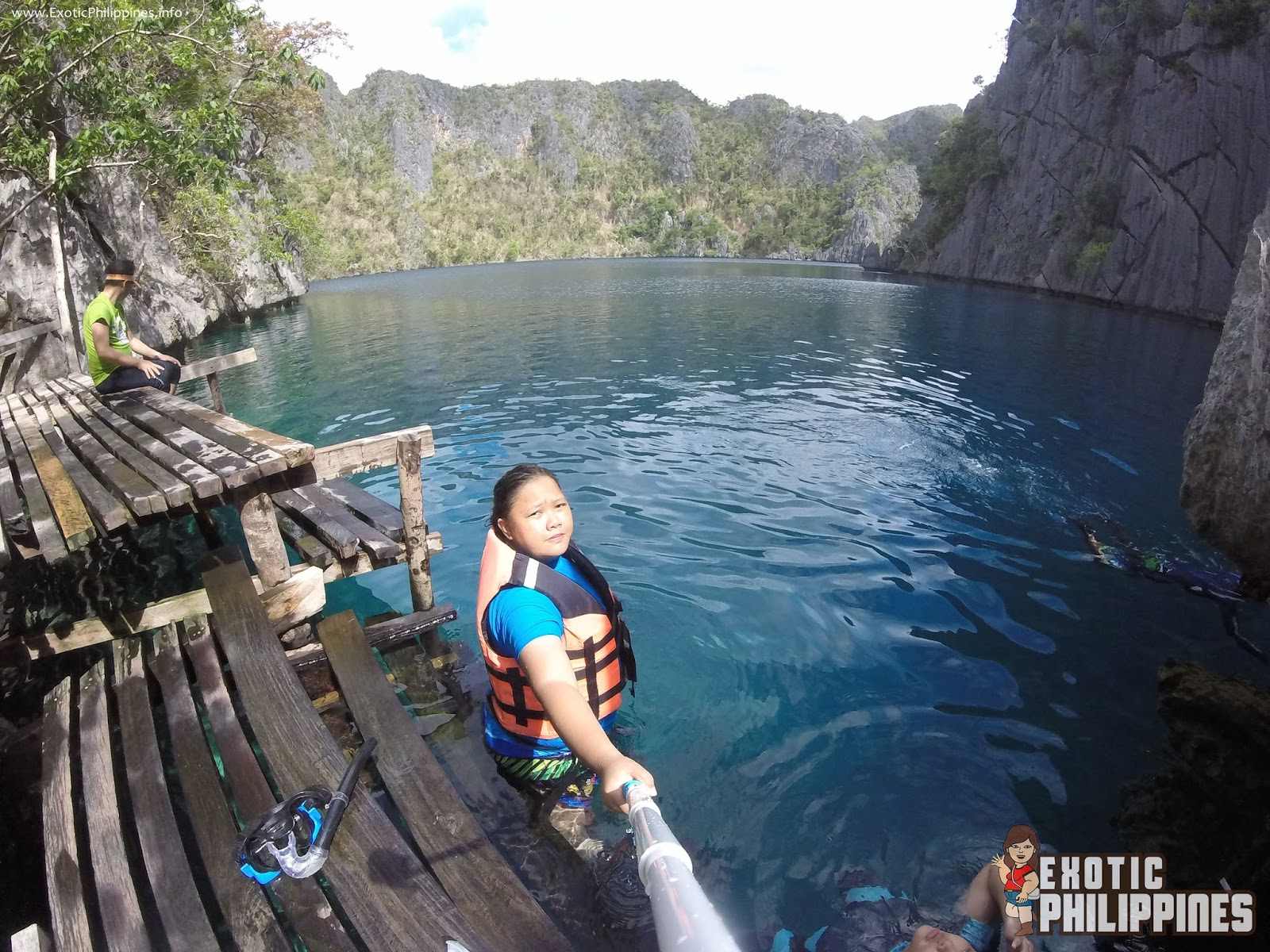Barracuda Lake Coron Palawan Exotic Philippines