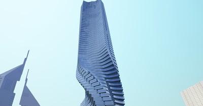 Arquitectura moderna arquitectura din mica for Edificio movil en dubai