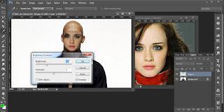 Edit Foto Photoshop Untuk Mengubah Wajah