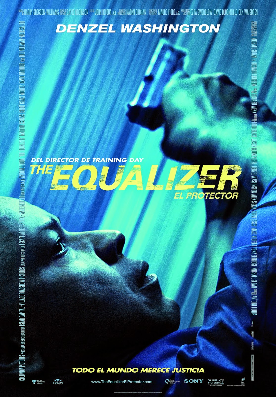 The Equalizer (El protector) - póster