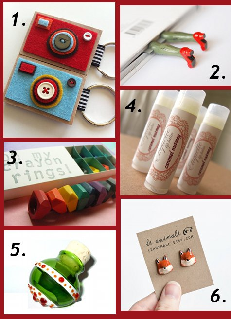 Here are a few ideas for terrific, handmade stocking stuffers I've ...