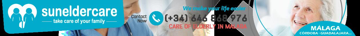 SUNELDERCARE (+34 648 868 976) Care of elderly in Malaga