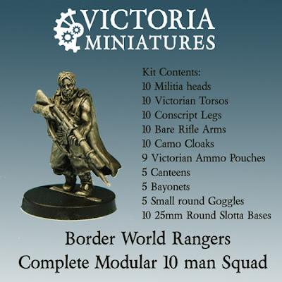 Victoria Miniatures Rangers