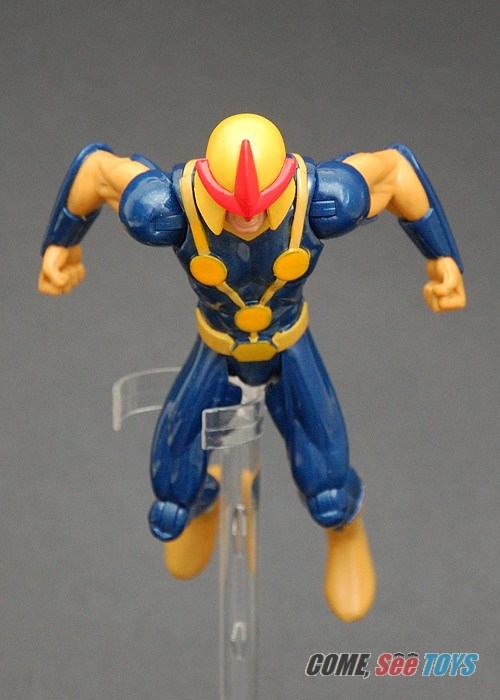 Come see toys ultimate spider man human rocket nova - Nova ultimate spider man ...