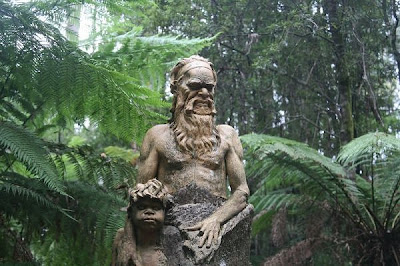 Mystical Sculptures of the Australian Rainforest by William Ricketts