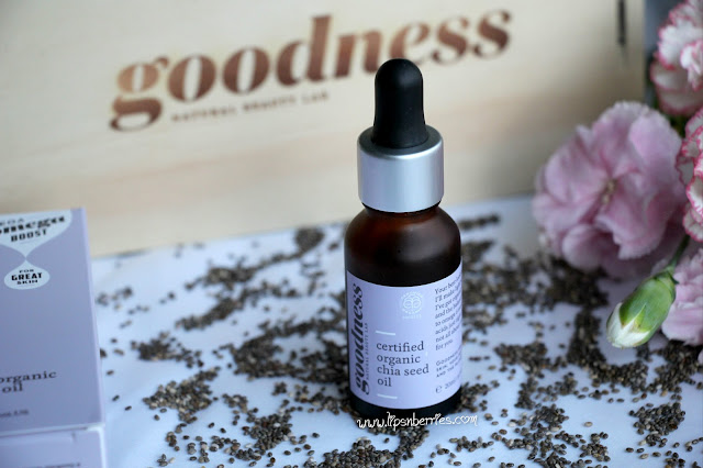 Goodness labs organic chia seed oil review