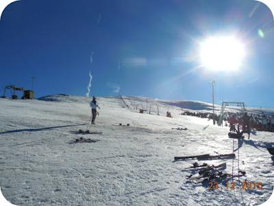 Am incheiat sezonul de schi la Straja