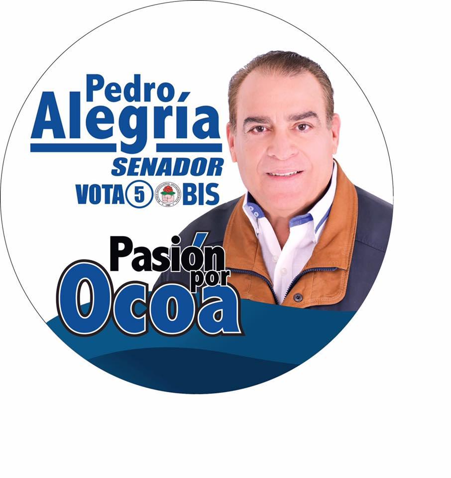PEDRO ALEGRIA SENADOR