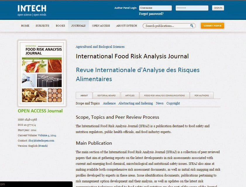 food journal analysis 2