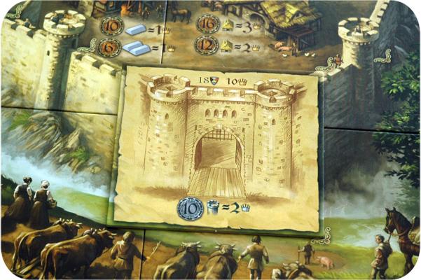 настольная игра Замок на все времена, boardgame Castle for all Seasons