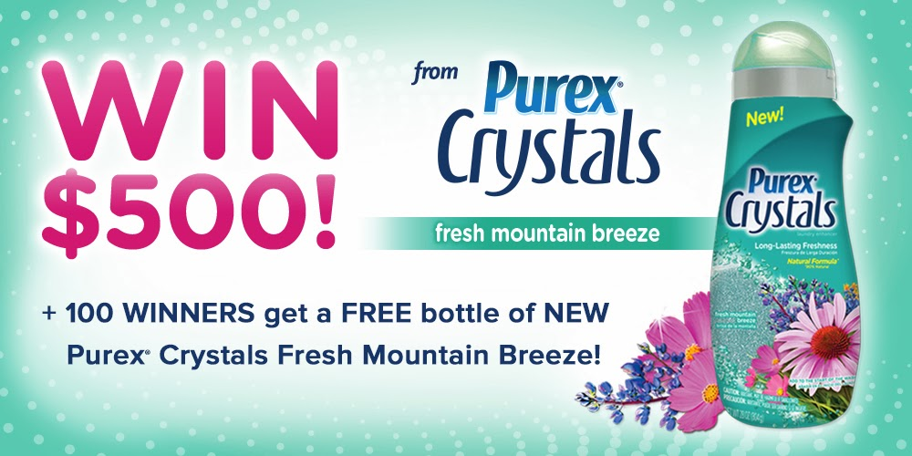 Purex Over the mountain & through the woods sweepstakes