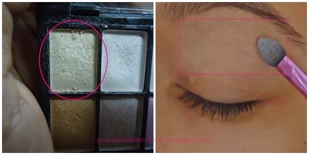iluminador maquiagem