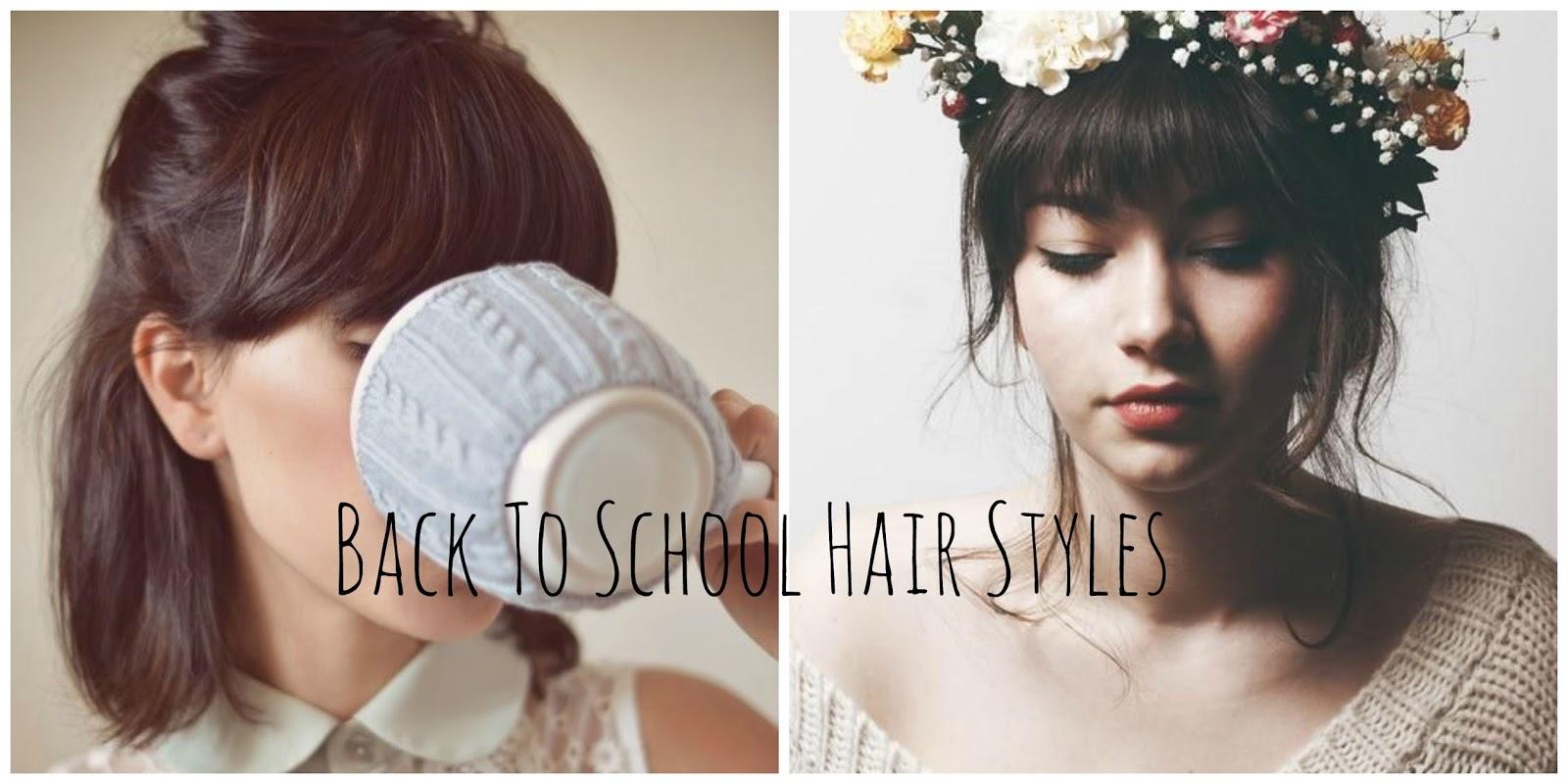 Perks Being Reader Cute Back School Hair Styles