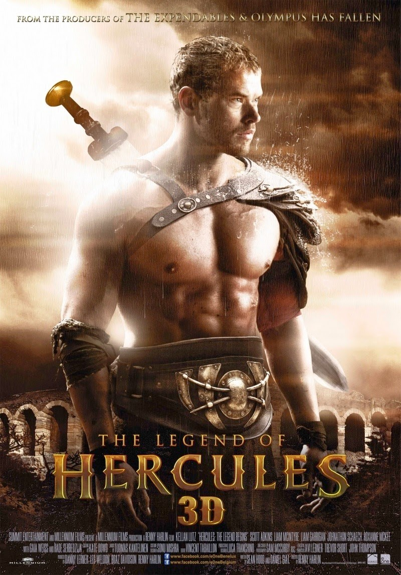 Huyền Thoại Héc-Quyn - The Legend of Hercules (2014) Poster